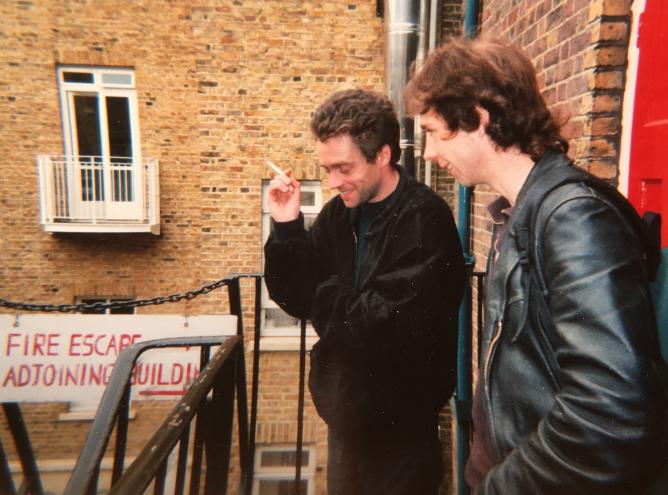 Philippe pissier et matthieu le on londre 1998